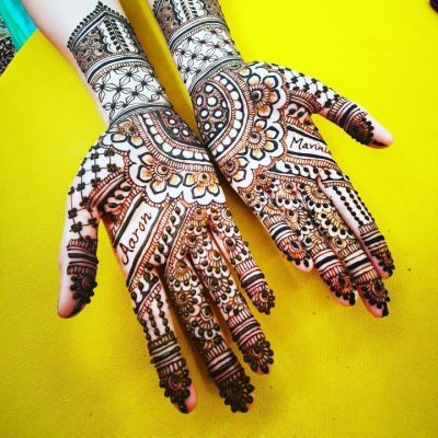 Mehndi Waves Artwork